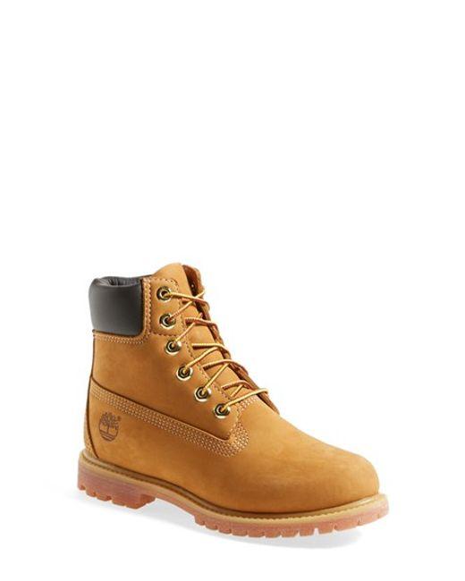 Timberland   Natural '6 Inch Premium' Waterproof Boot   Lyst