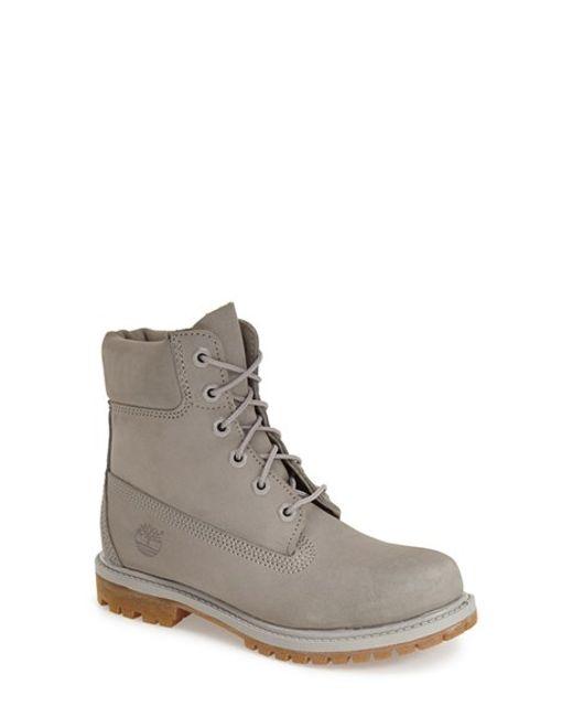 Timberland | Gray '6 Inch Premium' Waterproof Boot | Lyst