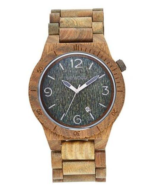 WeWood   Multicolor Alpha Wood Bracelet Watch   Lyst