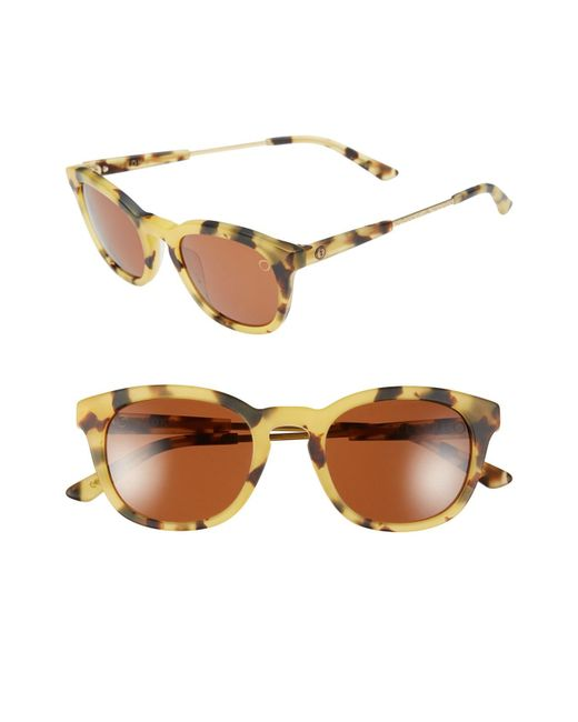 Electric - Brown 'txoko' 50mm Sunglasses - - Lyst