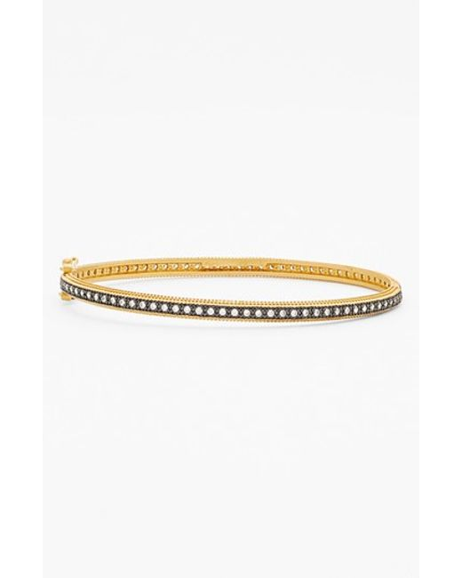 Freida Rothman | Metallic Skinny Bangle | Lyst