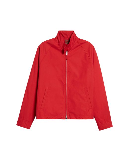 61ddce179bbb Lyst - Golden Bear Harrington Waxed Cotton Jacket in Red for Men