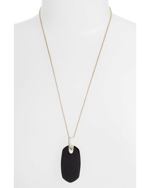 Kendra Scott - Metallic Inez Pendant Necklace - Lyst