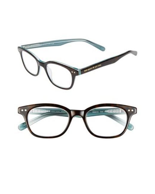 Kate Spade | Blue Rebecca 49mm Reading Glasses | Lyst