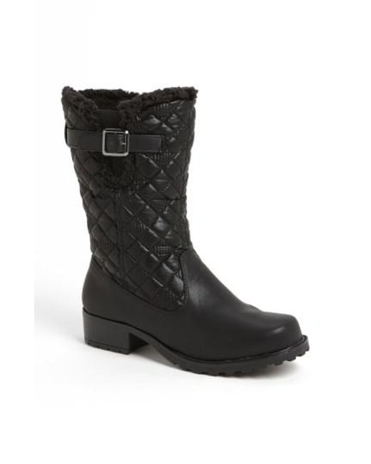 Trotters - Black 'blizzard Iii' Boot - Lyst