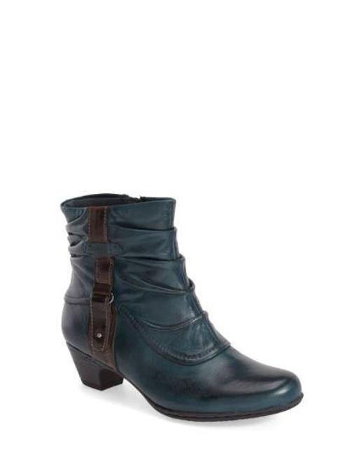 Cobb Hill   Blue 'alexandra' Boot   Lyst
