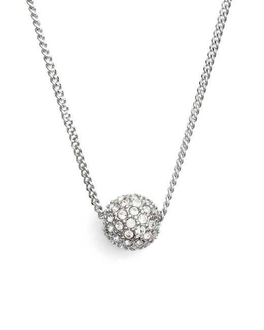 Givenchy - Metallic 'fireball' Pendant Necklace - Lyst