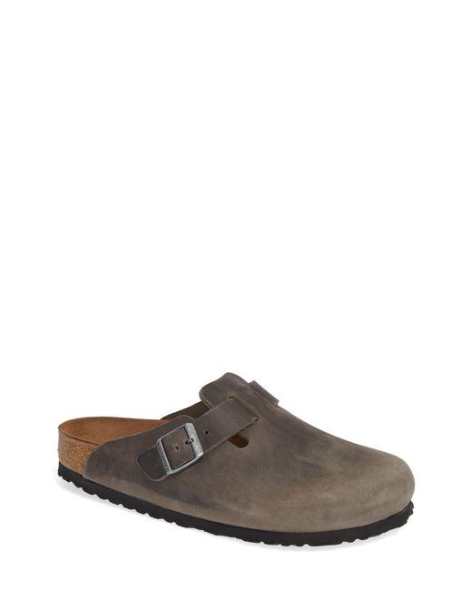 Birkenstock - Gray Boston Soft Clog for Men - Lyst