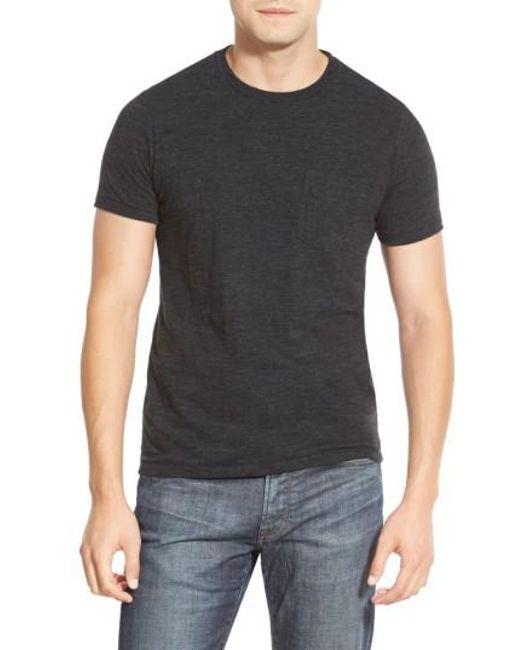 Bonobos | Black Double Face Jersey Pocket Crewneck T-shirt for Men | Lyst