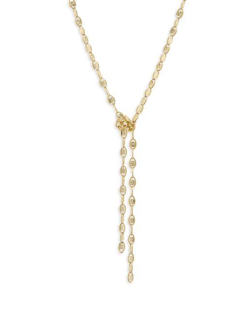 Shashi - Metallic Laila Lariat Necklace - Lyst