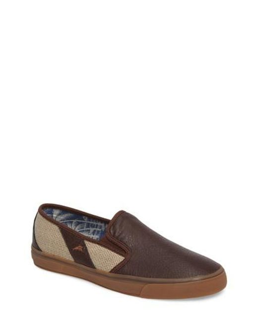 Tommy Bahama | Brown Pacific Ridge Slip-on for Men | Lyst