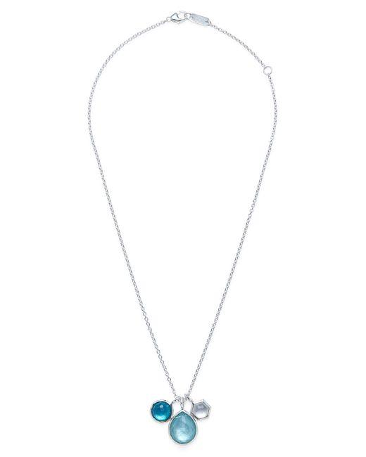 Ippolita - Metallic 'rock Candy - Wonderland' Semiprecious Stone Triple Pendant Necklace - Lyst