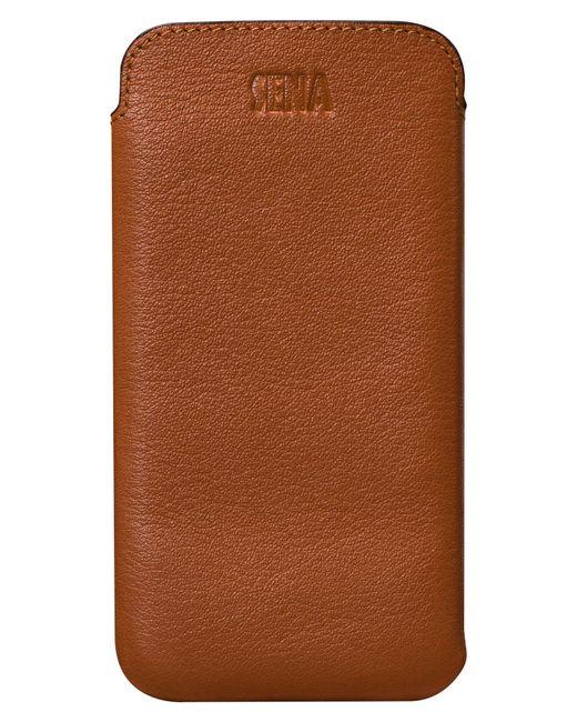 Sena - Brown Ultraslim Iphone X & Xs Leather Sleeve - Lyst