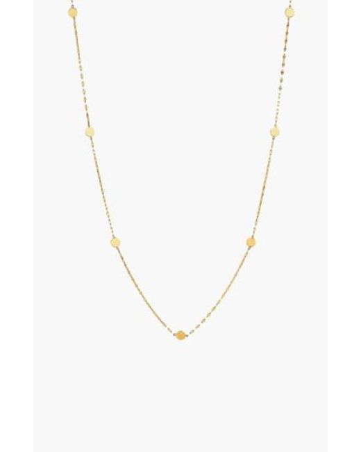 Lana Jewelry | Yellow 'ombre' Disc Station Necklace | Lyst
