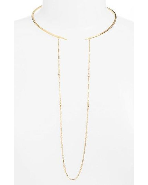 Vince Camuto | Metallic Hinge Collar Necklace | Lyst