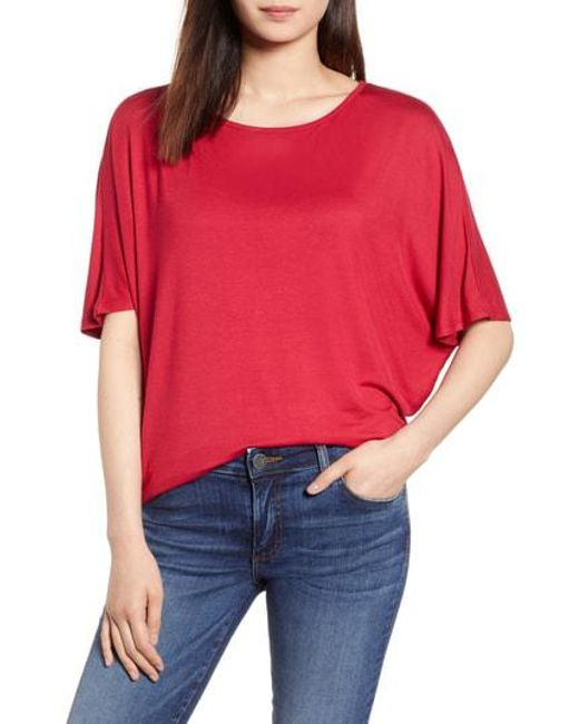 Michael Stars - Red Strappy Back Top - Lyst