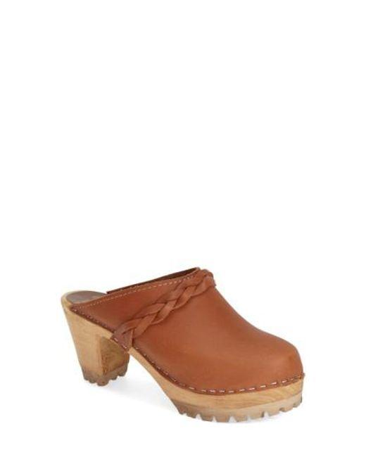 MIA | Brown 'elsa' Clog | Lyst