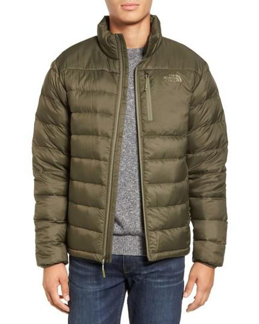 The North Face | Green 'aconcagua' Goose Down Jacket for Men | Lyst