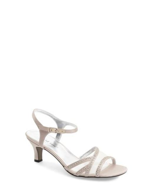 David Tate | Natural 'violet - Night Out' Sandal | Lyst