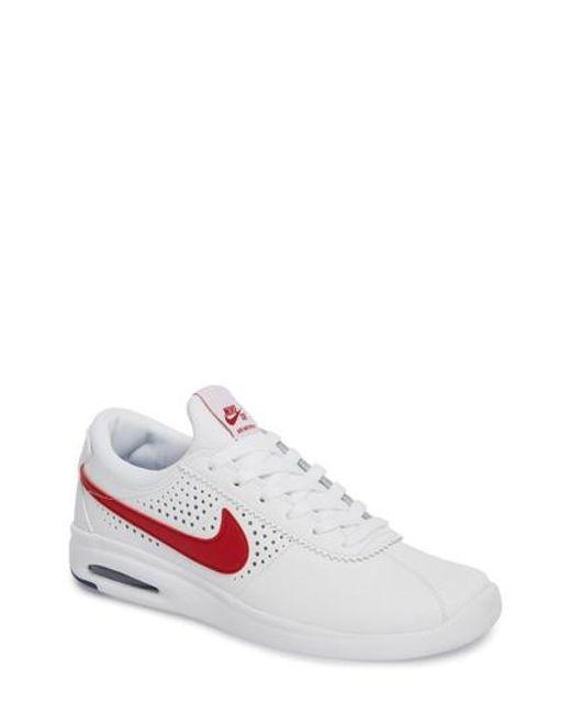 Nike - White Sb Air Max Bruin Vapor Skateboarding Sneaker for Men - Lyst
