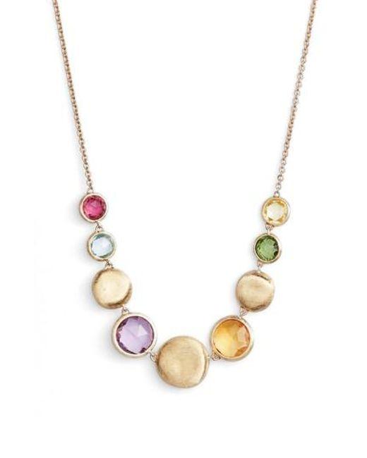 Marco Bicego - Metallic Jaipur Semiprecious Stone Collar Necklace - Lyst