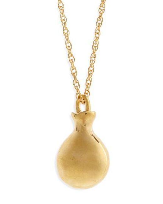 Sophie Buhai | Metallic Perfume Pendant Necklace | Lyst