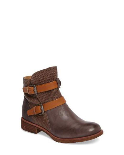 Söfft - Brown Baywood Buckle Boot - Lyst
