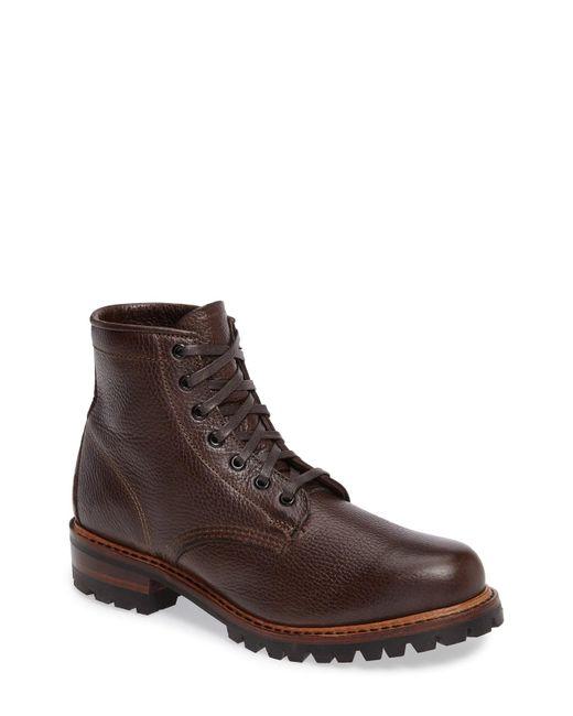 Frye - Brown Arkansas Logger Boot for Men - Lyst