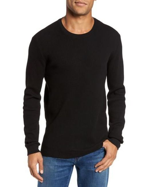 AG Jeans | Black Travis Slim Fit Long Sleeve T-shirt for Men | Lyst