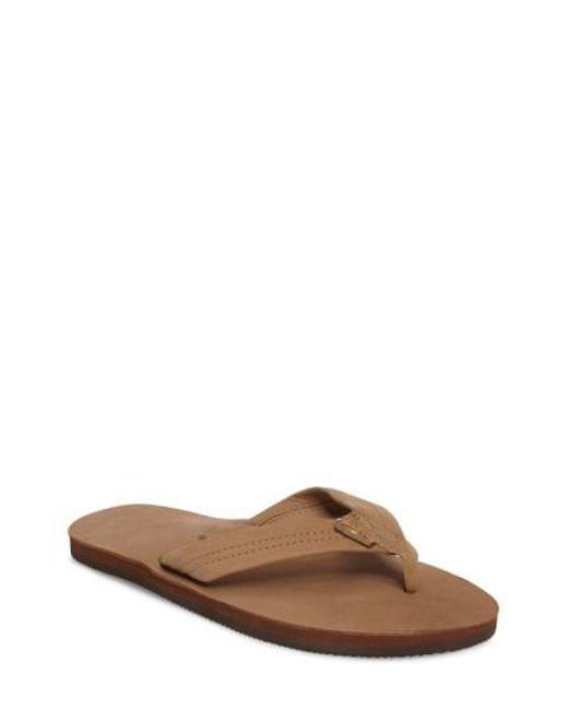 Rainbow Sandals - Brown '301alts' Sandal for Men - Lyst