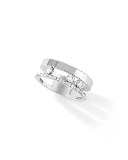 Messika - Metallic Two Row Move Romane Diamond Ring - Lyst