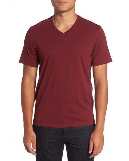 Zachary Prell | Red Mercer V-neck T-shirt for Men | Lyst