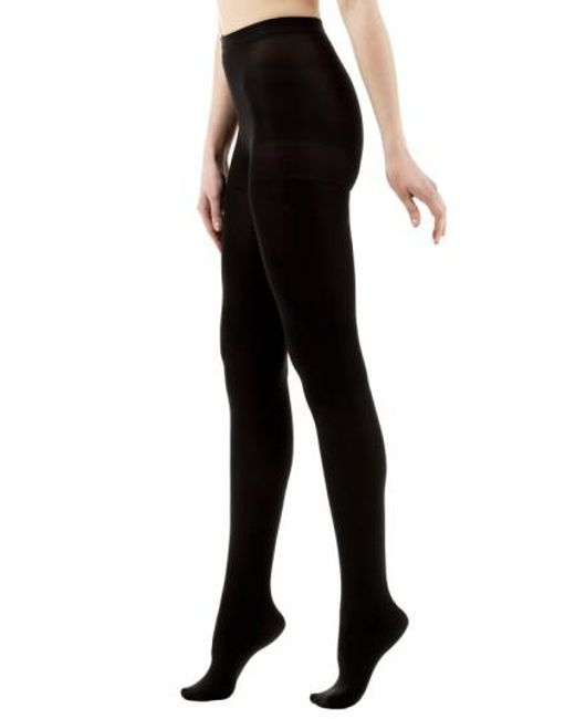 VIM & VIGR - Black Graduated Compression Tights - Lyst