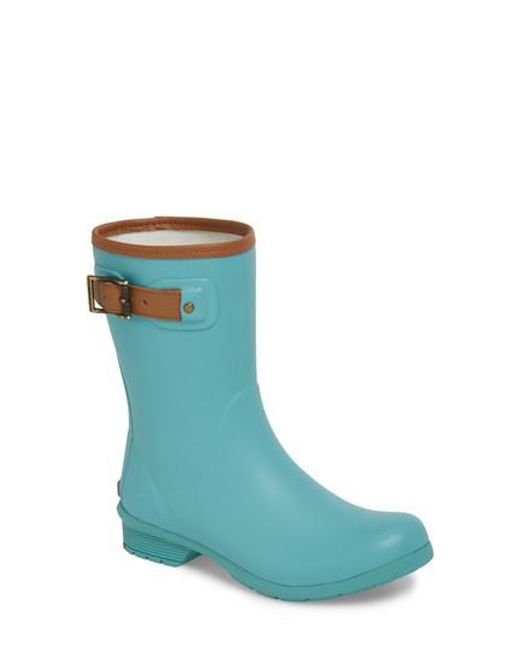 Chooka - Blue City Solid Mid Height Rain Boot - Lyst