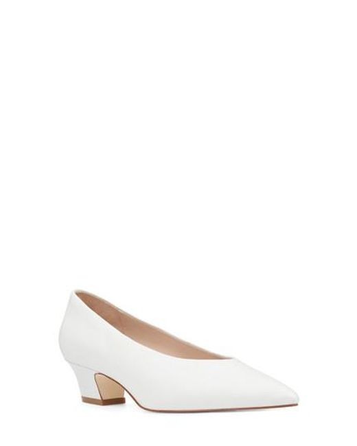 Nine West - White Kendra Pointy Toe Pump - Lyst