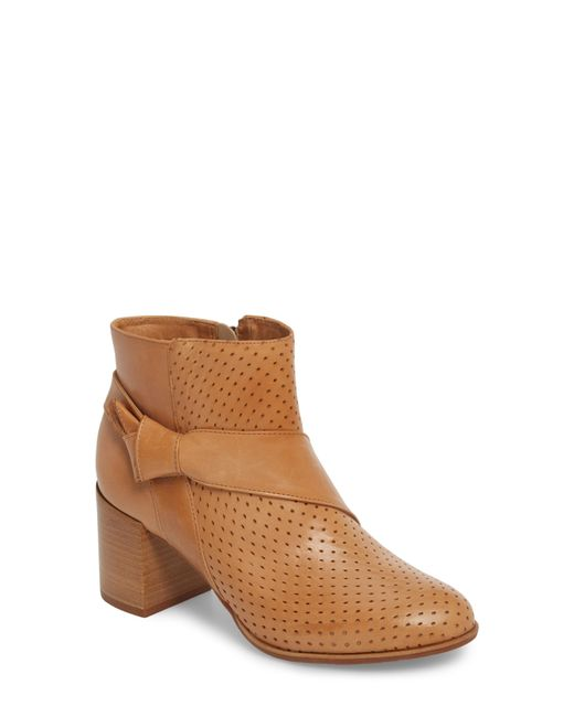 Johnston & Murphy - Brown Felice Bootie - Lyst