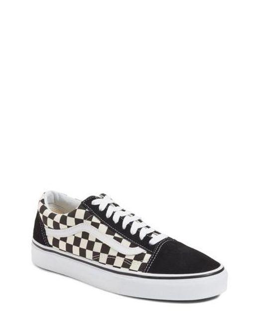 Vans | Black Old Skool Sneaker for Men | Lyst