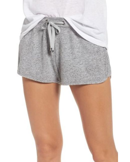 Make + Model | Gray Bring It On Lounge Shorts | Lyst