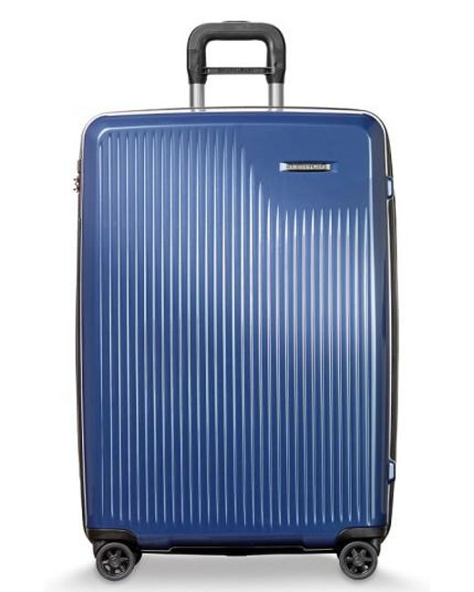 Briggs & Riley | Blue 'sympatico' Expandable Wheeled Packing Case for Men | Lyst