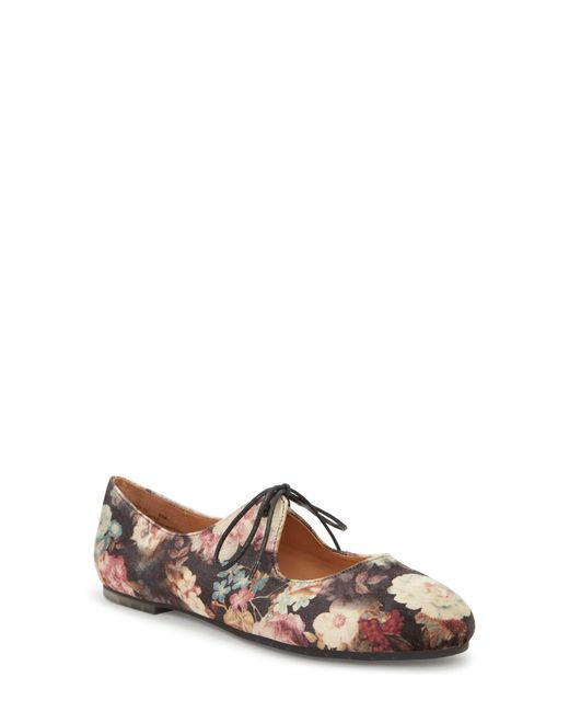 Me Too - Black Cacey Mary Jane Flat - Lyst