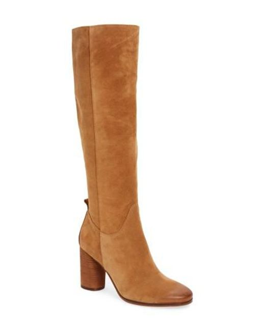 Sam Edelman Camellia Tall Boots In Brown