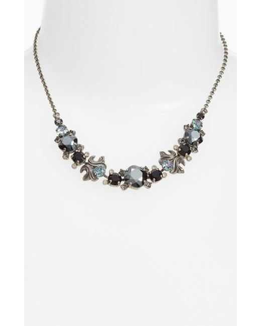 Sorrelli | Black Balsam Frontal Necklace | Lyst
