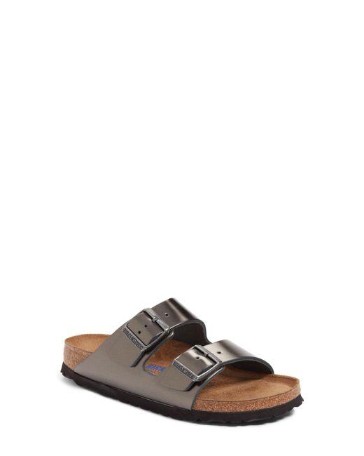 Birkenstock Black Arizona Soft Footbed Sandal