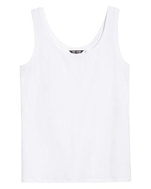 NIC+ZOE | White 'perfect' Tank | Lyst
