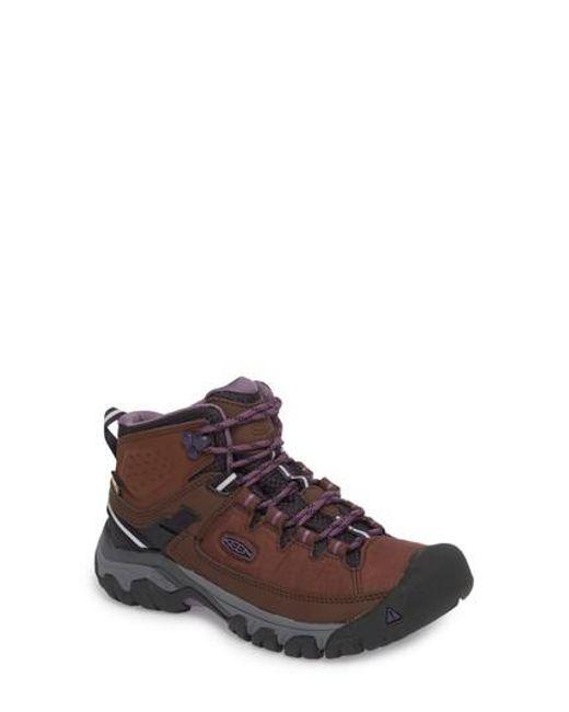 2de5a09e571 Women's Brown Targhee Exp Mid Waterproof Hiking Shoe