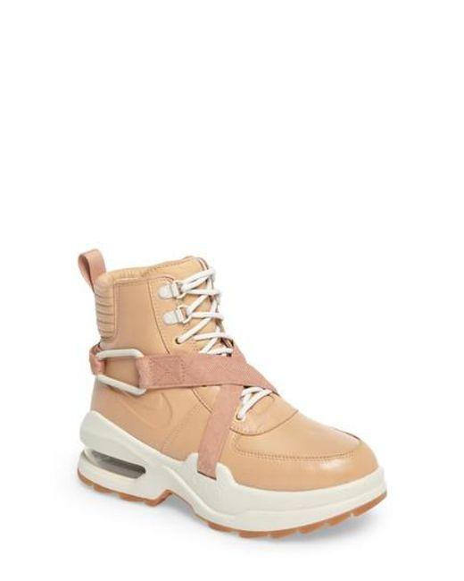 045ed51a89 Lyst - Nike Air Max Goadome Sneaker Boot in Brown for Men