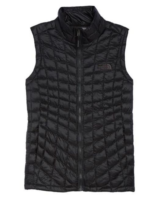 The North Face   Black Thermoball Primaloft Vest   Lyst