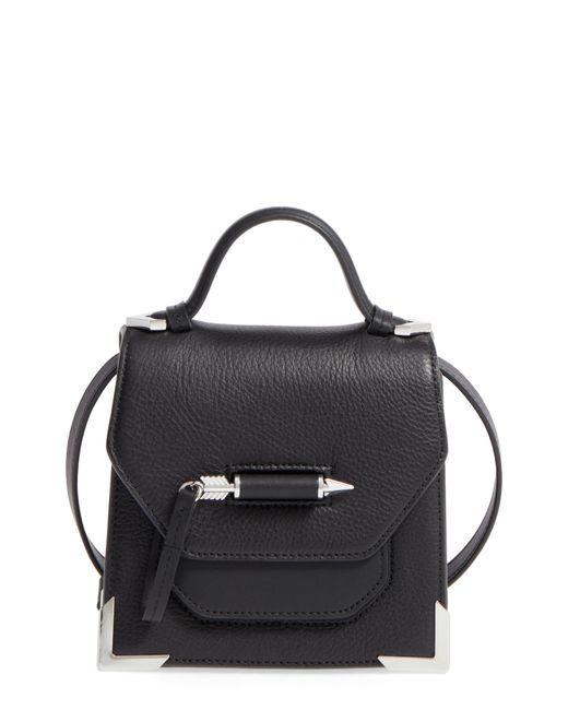Mackage - Black Mini Rubie Leather Shoulder Bag - - Lyst