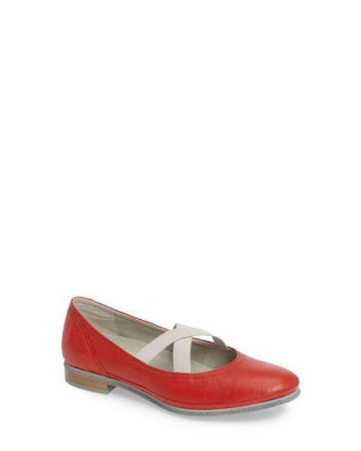 Cloud - Multicolor Ballet Strappy Flat - Lyst