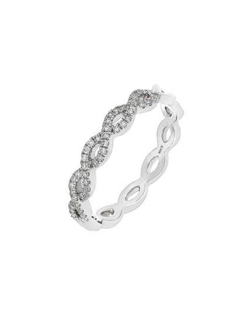 CARRIERE JEWELRY | Metallic Carriere Diamond Weave Ring (nordstrom Exclusive) | Lyst